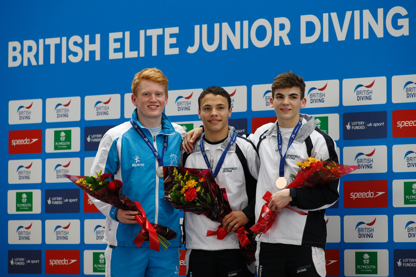 Men's Elite Junior Medallists