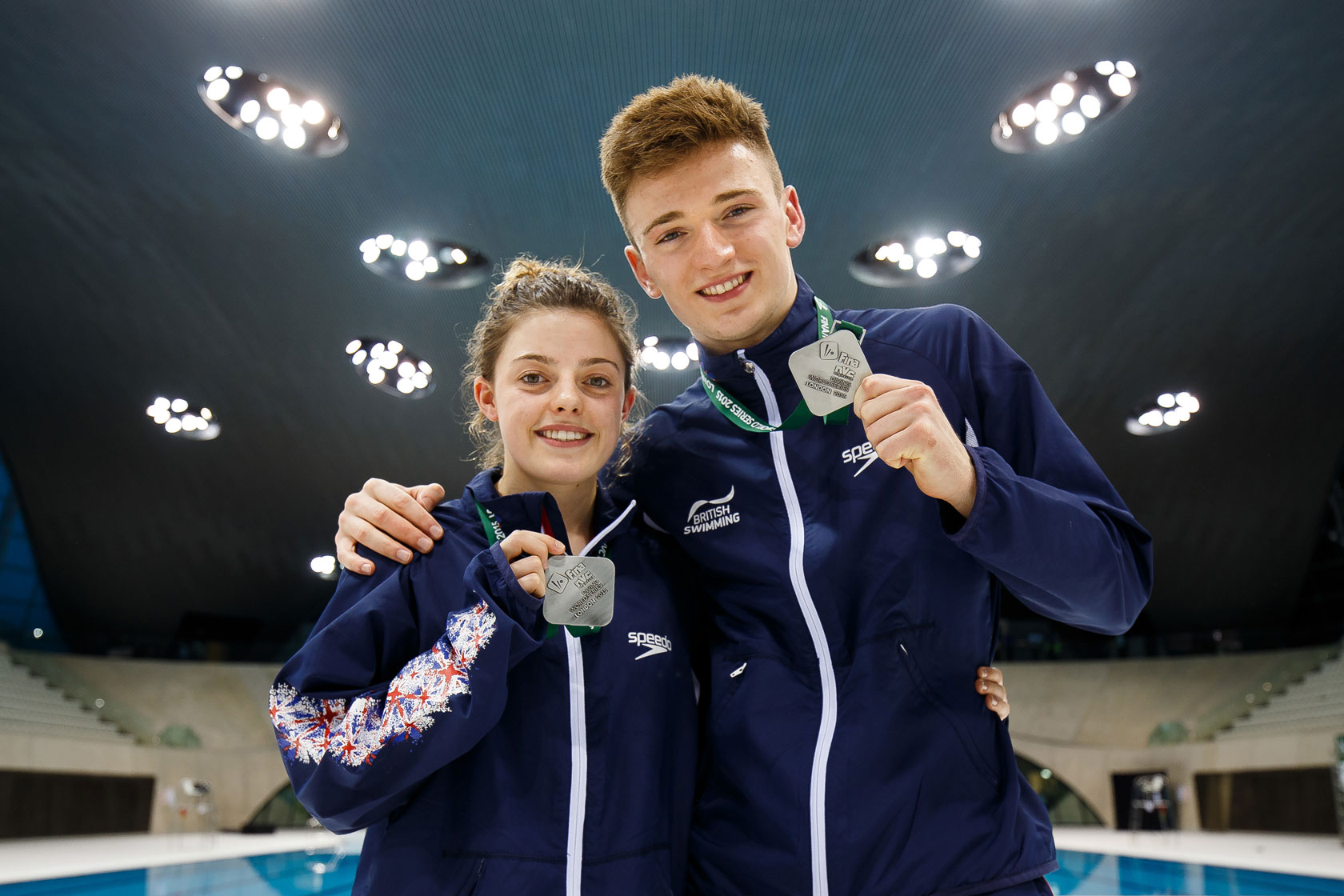 Matty Lee and Georgia Ward win World Series medal