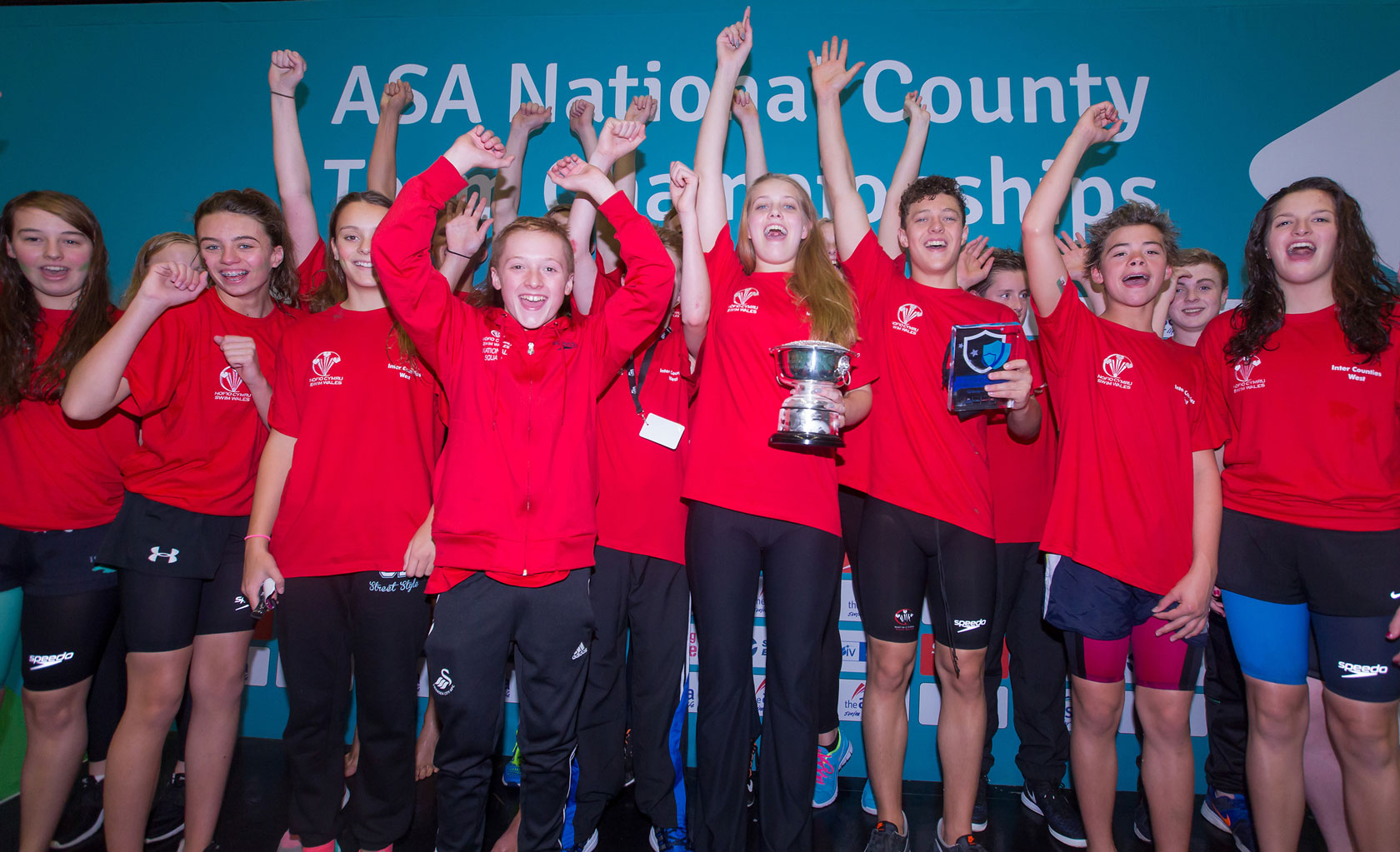 Swim Wales West win Division Two of 2015 ASA National County Team Championships