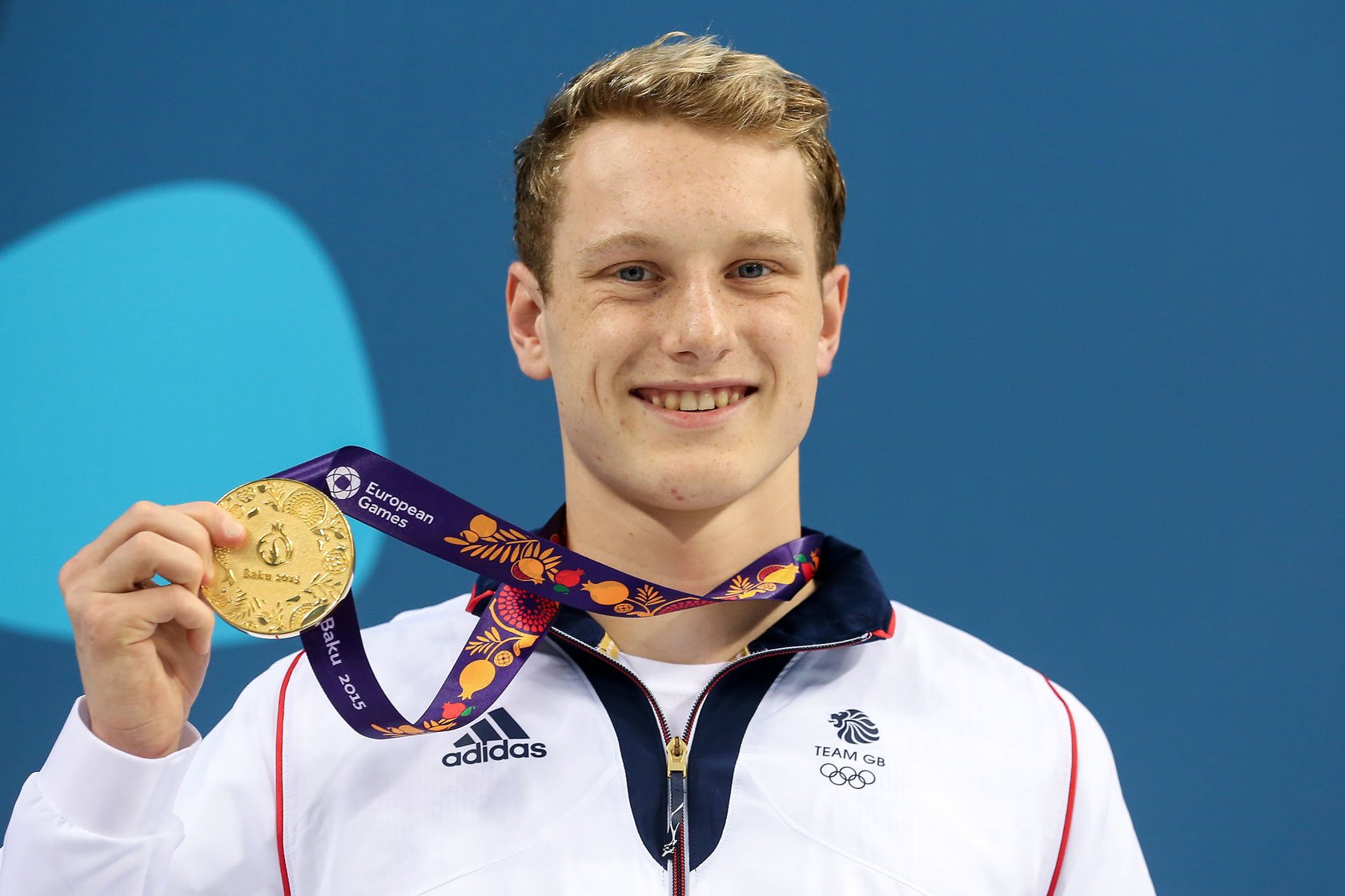 Luke Greenbank gold medal Baku 2015