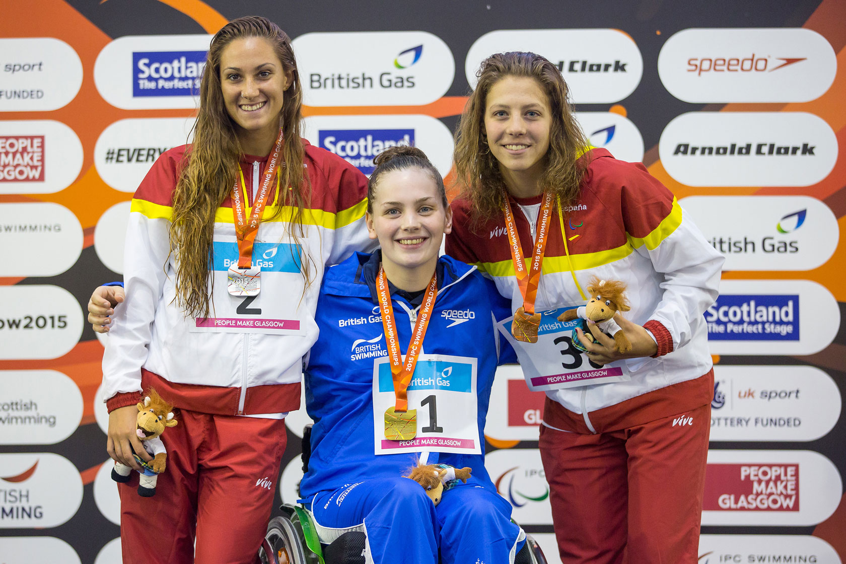 Tully Kearney gold at Glasgow 2015