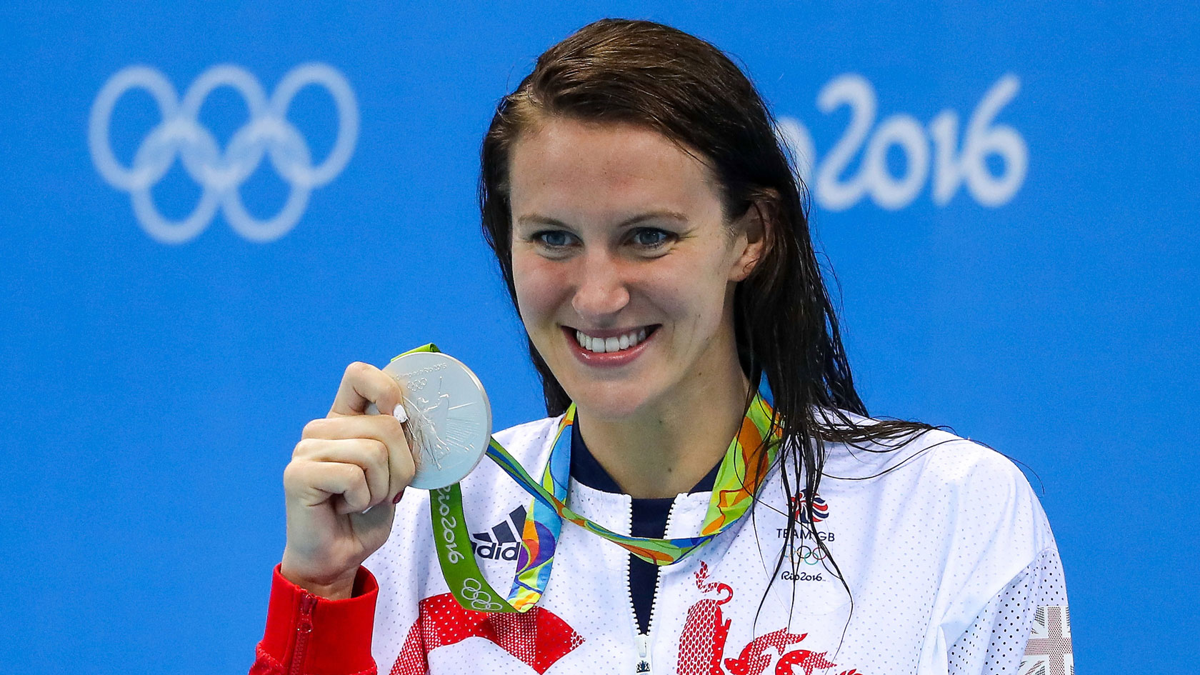 Jazz Carlin wins Olympic silver at Rio 2016