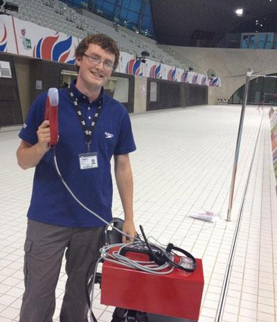 Robert Nesbitt volunteering